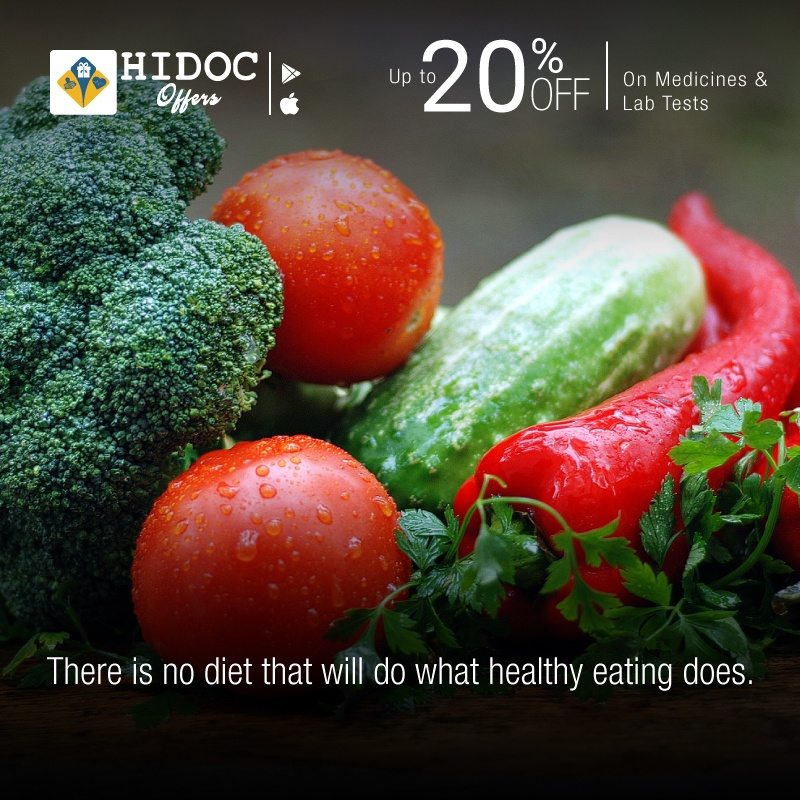 Health Tip - There is no diet that will do what healthy eating does.